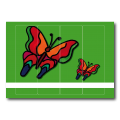Ordnetiketten | Schmetterling
